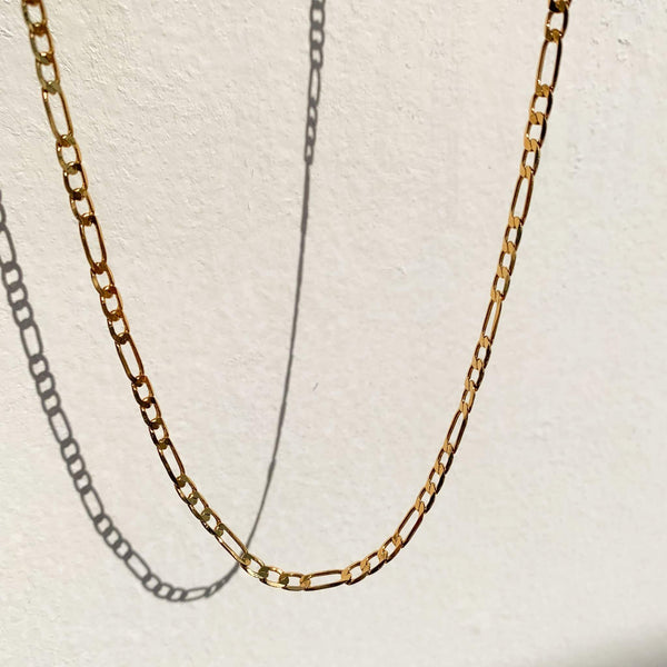 Thick Vintage Figaro Chain