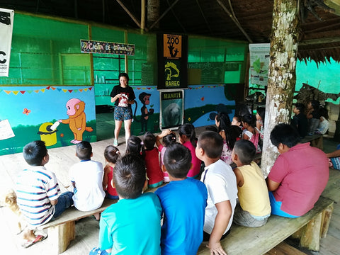 Classroom for kids' environmental education