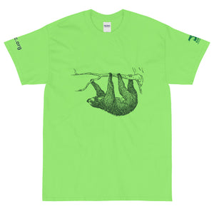 Sloths Conservation Unisex T-Shirt - Pastel colors