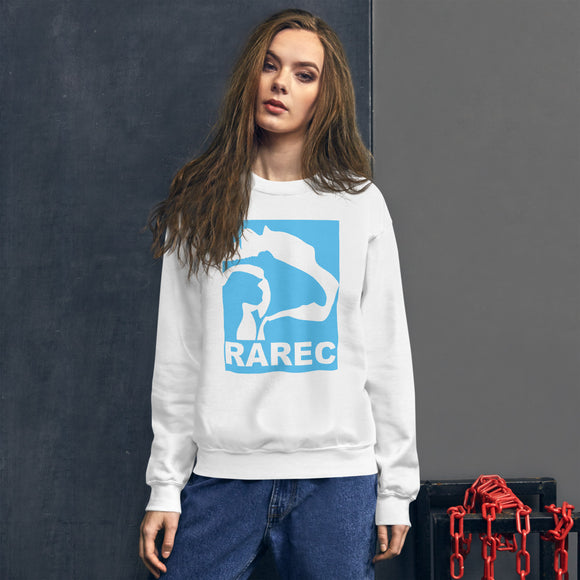 Ladies' RAREC Aqua Logo Sweatshirt