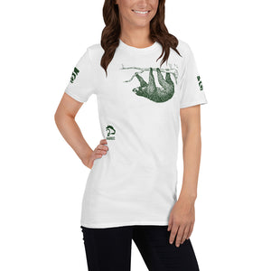 Sloth Conservation - Unisex White T-Shirt