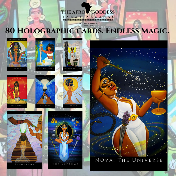 Afro Goddess Tarot Arcanas First Edition: Special Edition