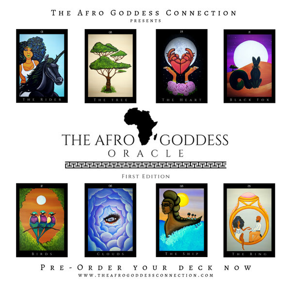 Afro Goddess Oracle Deck (PREORDER)