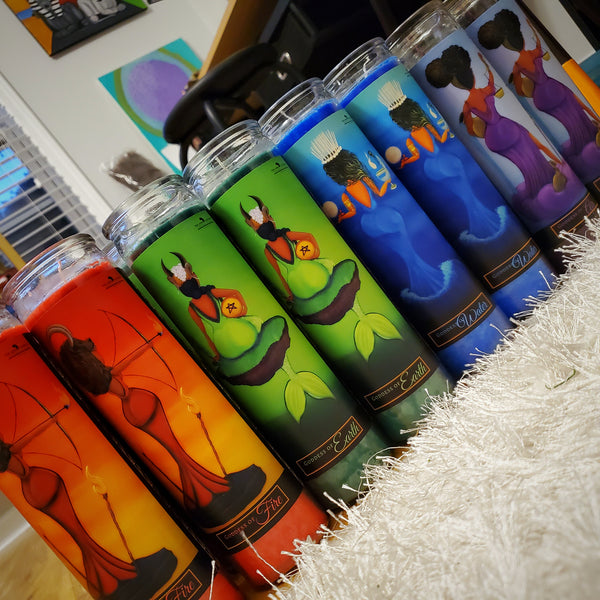 She Strides 2.0: Elemental Goddess Candle Set