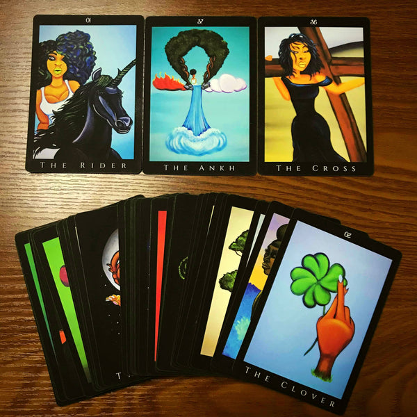 Afro Goddess Oracle Deck (PREORDER from the March 2020 shipment)