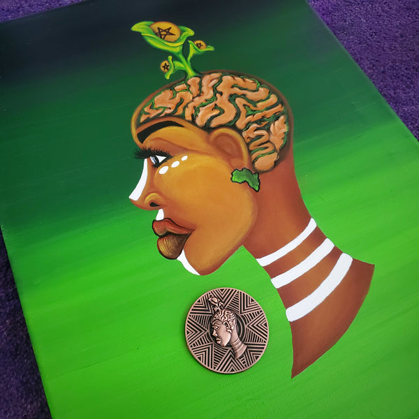 The Afro Goddess Collector's Coin Box