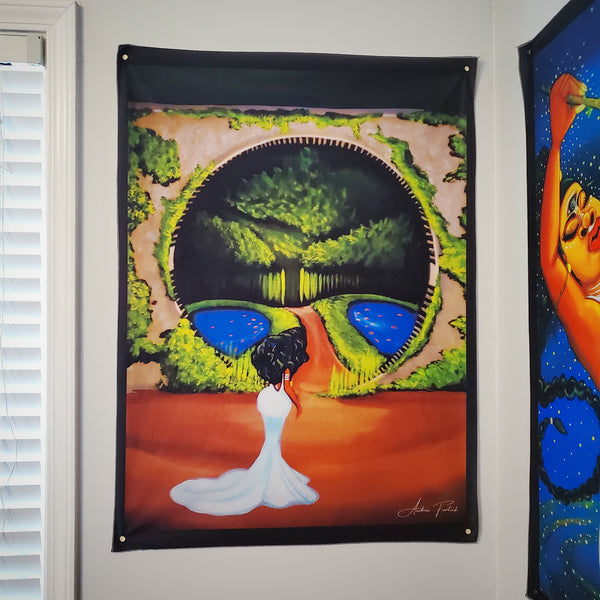 *NEW* Portal To Paradise Tapestry