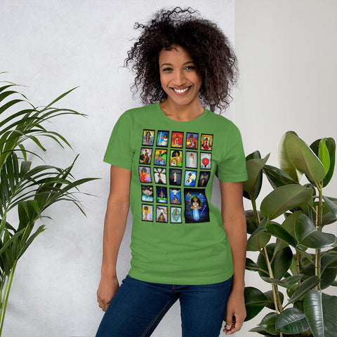 Afro Goddess Tarot Arcanas Major Arcana Short-Sleeve Unisex T-Shirt