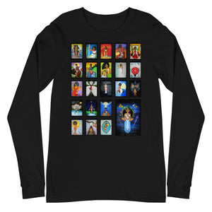 Afro Goddess Tarot Arcanas Major Arcana Long Sleeve Tee