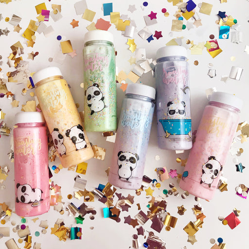 Confetti Panda Series Plastic Bottle