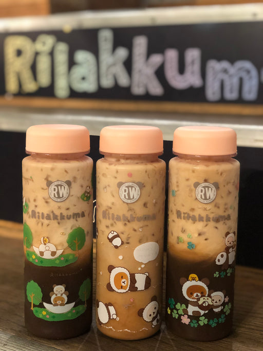 Roasting Water x Rilakkuma Panda Bottle