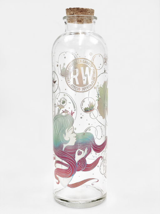 Bubbles Series Glass Wishing Bottle