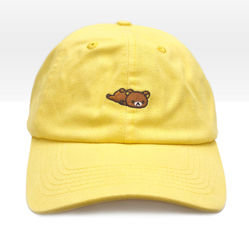 Roasting Water x Rilakkuma Lying Down Dad Hat