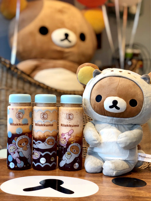 Roasting Water x Rilakkuma Otter Bottle