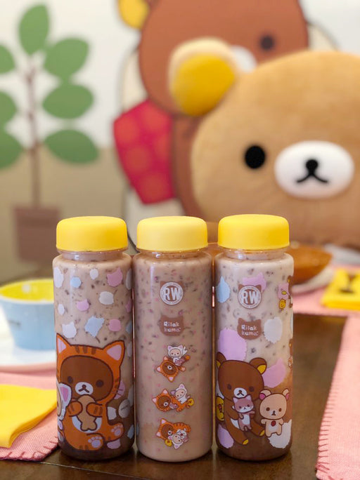 Roasting Water x Rilakkuma Cat Bottle