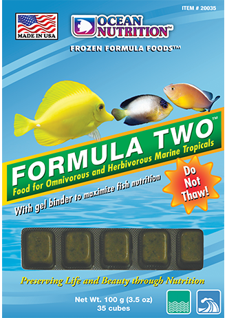 OCEAN NUTRITION Frozen Formula Two (20 Cubes)