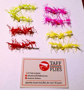 SET OF JEEPERS WORMS X8