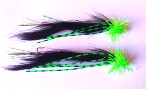 B/GREEN ND COSMIX SERPENTINE SNAKES 2INCH X2