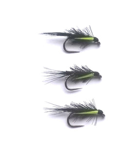BLACK ORGANZA GREEN BIOT CHEEKS DIAWL BACH X3