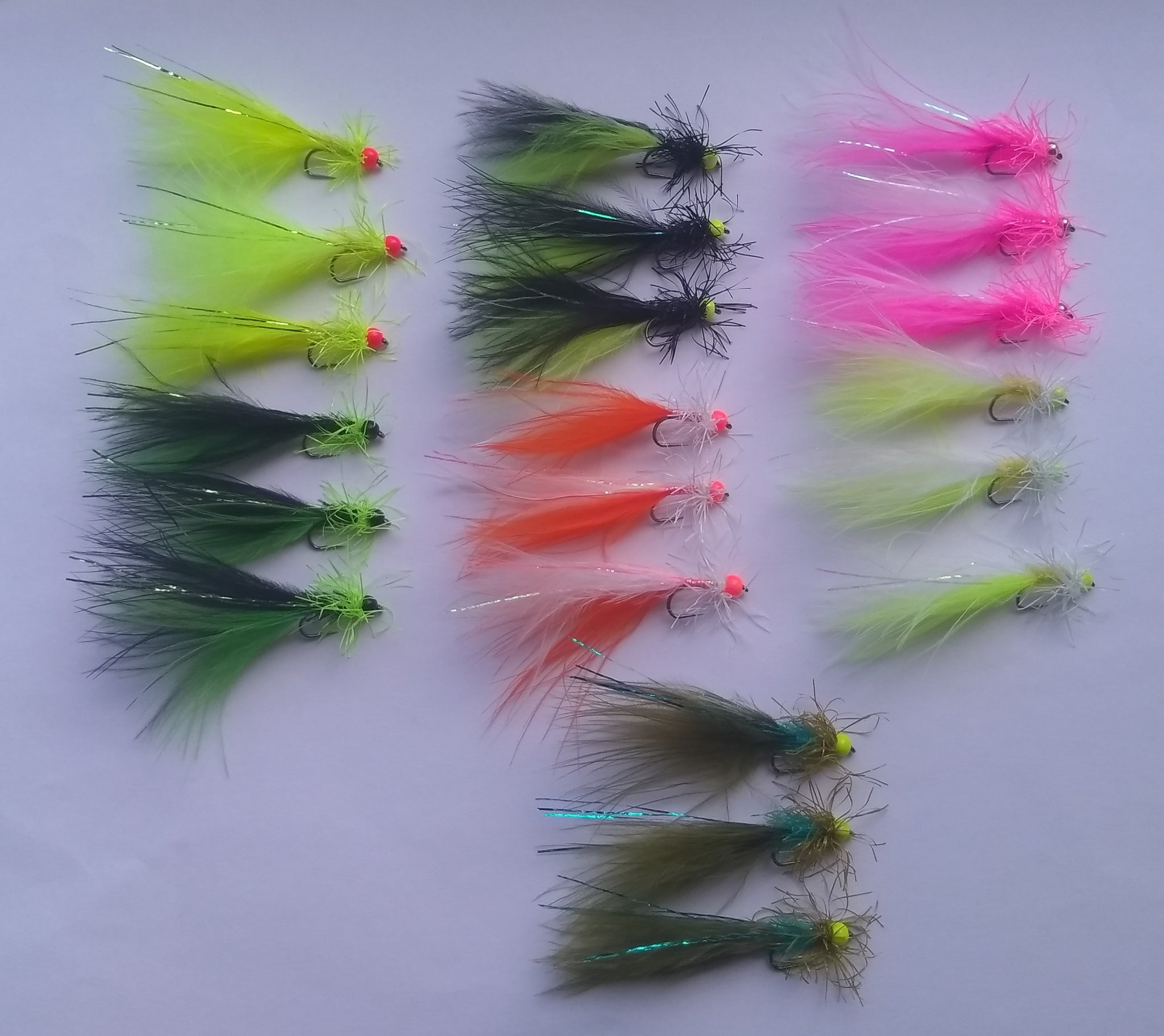 DSP MYTHICA RANGE SETS OF 3, 21 FLIES