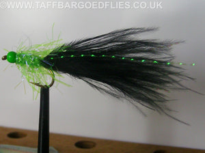 Black & Green Mini Straggle Fritz
