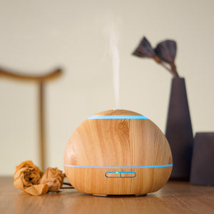 Smart Wi-Fi Essential Oil Diffuser Aroma Humidifier Compatible with Alexa & Google Home 300ml Watertank 7 LED light - SockeTech