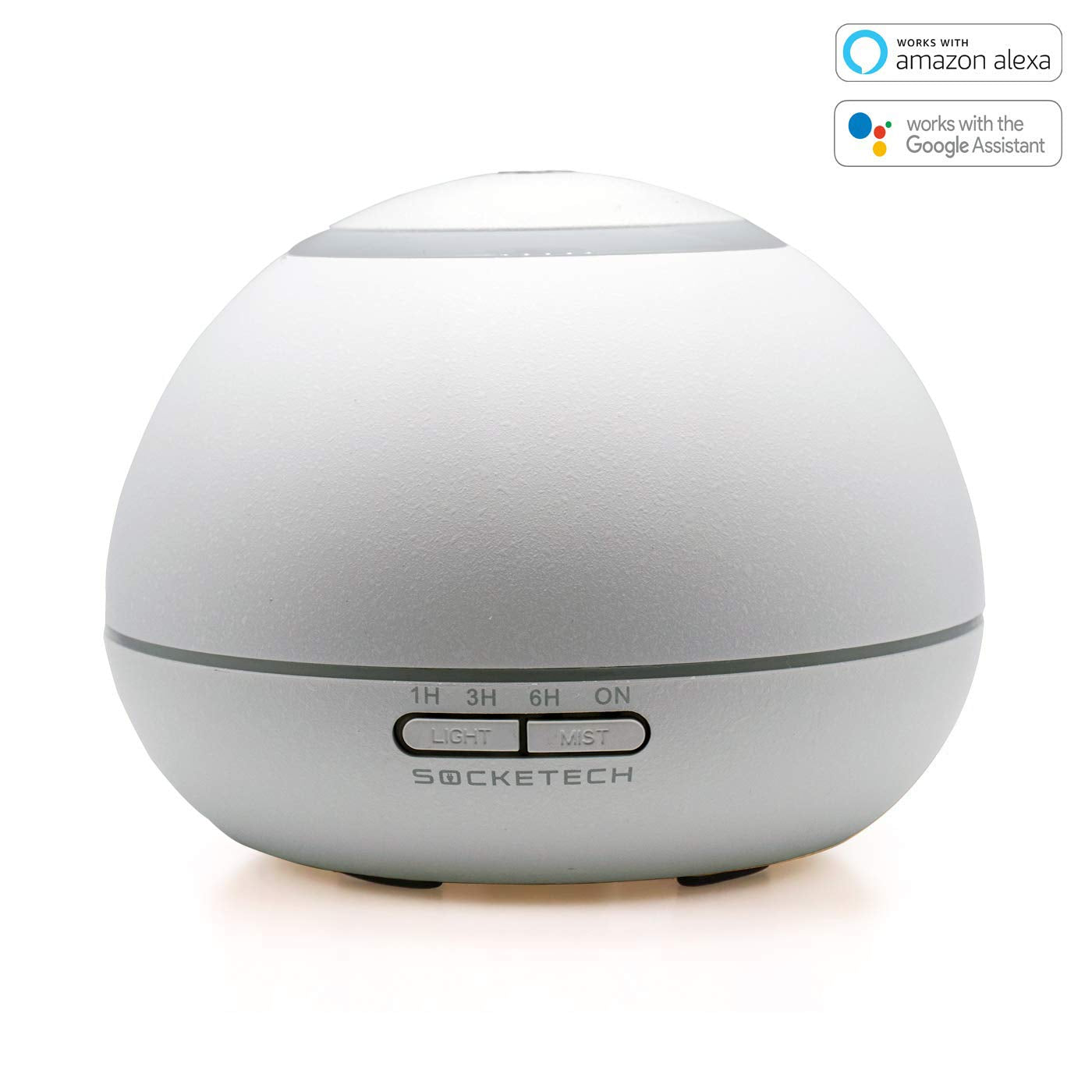 SOCKETECH ST17K 300ml Smart Wireless Essential Oil Aromatherapy Diffuser - Works with Alexa&Google Home,APP and Voice Control