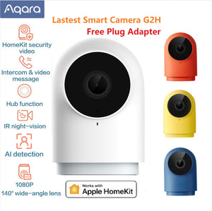 Aqara G2H Smart Camera 1080P HD Gateway Edition Night Vision Mobile For Apple HomeKit APP Zigbee home security 4 color