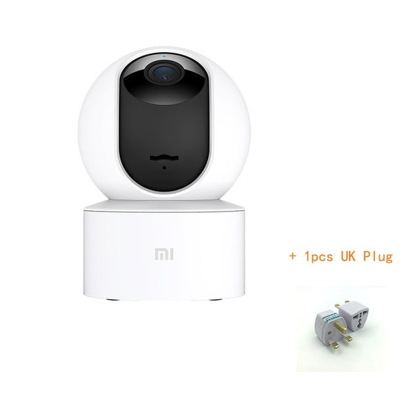 Original Xiaomi Mijia New 1080P IP Camera 360 Degree FOV Night Vision 2.4Ghz WiFi Xiaomi Home Kit Security Baby Security Monitor