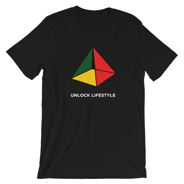 Basic Pyramid Unisex T-Shirt