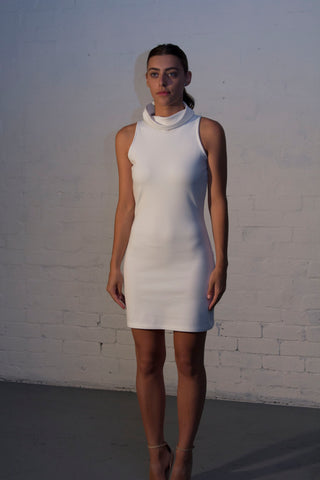 STAPLE Turtleneck Mini Dress - Grace The Label