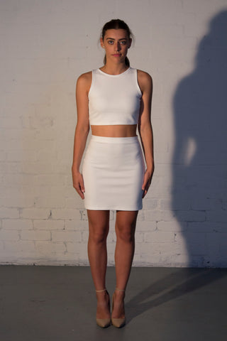 STAPLE Bodycon Mini Skirt - Grace The Label