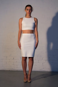 STAPLE Bodycon Midi Skirt - Grace The Label