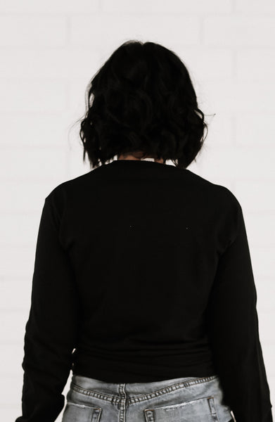 ST KILDA Long Sleeve Boyfriend Tee - Grace The Label