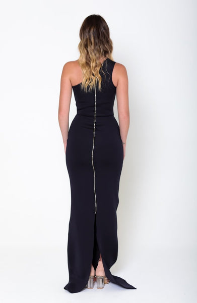 AVA Asymmetric Gown - Grace The Label
