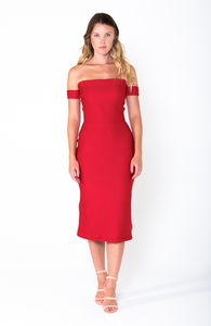 ASHLEY A-Line Midi Dress - Grace The Label