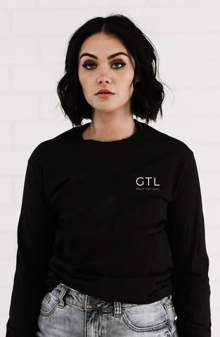 CAMBERWELL Long Sleeve Boyfriend Tee - Grace The Label