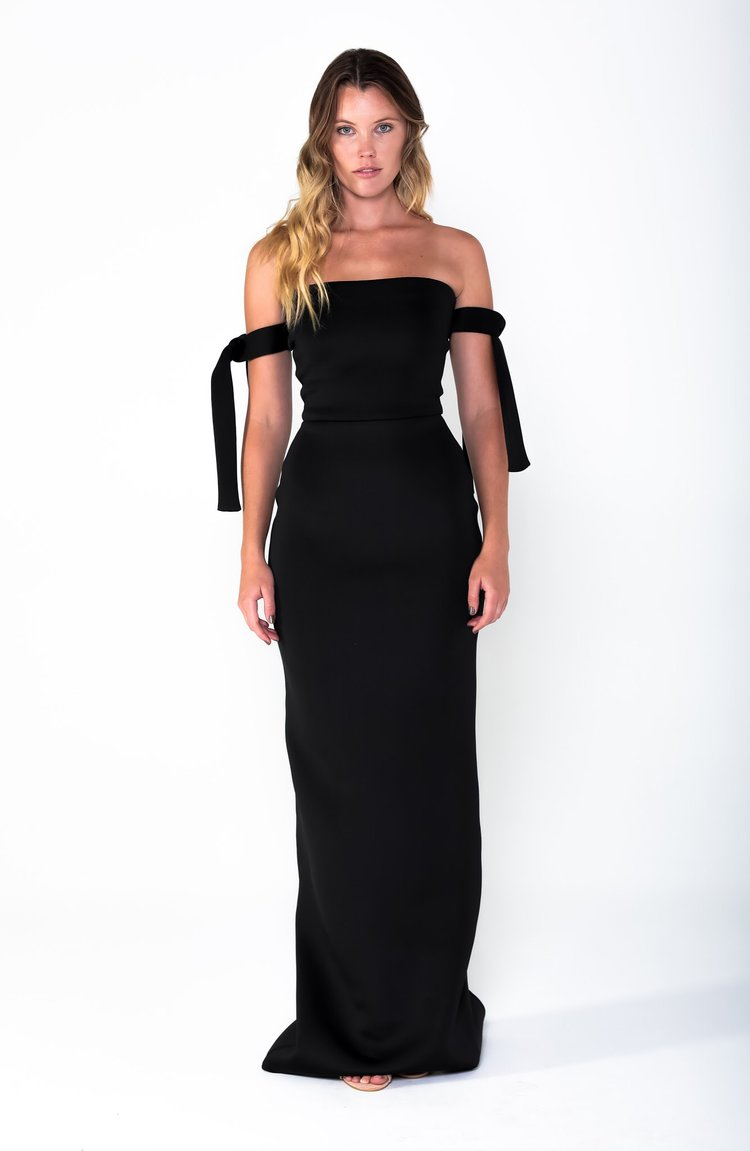 COCO Tie Gown - Grace The Label