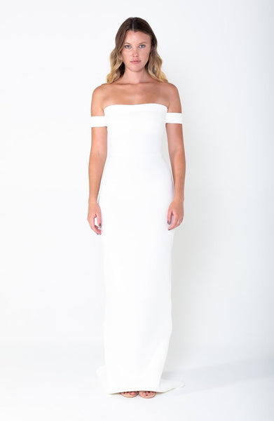 ELISE Off The Shoulder Gown - Grace The Label