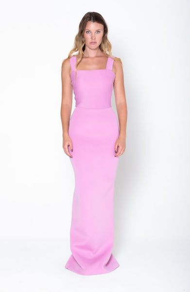 PHOEBE Wide Strap Gown - Grace The Label