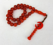 Star/Moon10mm Prayer Beads 33 Masbaha