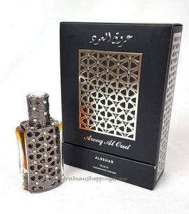 AL Rehab Arooq AL OUD 15ml Concentrated Perfume Oil UNISEX