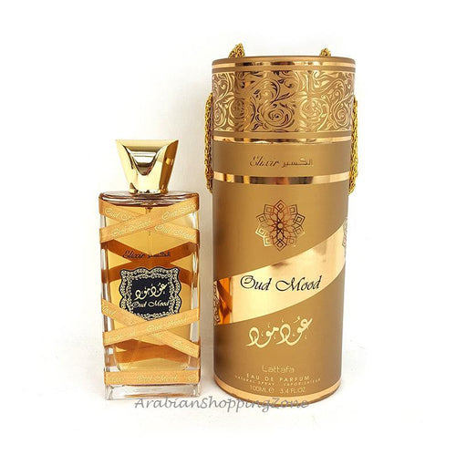 Oud Mood Elixir Unisex 100ml EDP by Lattafa Perfumes