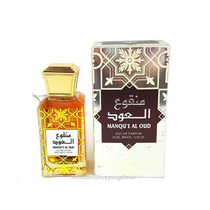 Manqu'e AL Oud Unisex 100ml EDP Spray Perfume by Lattafa