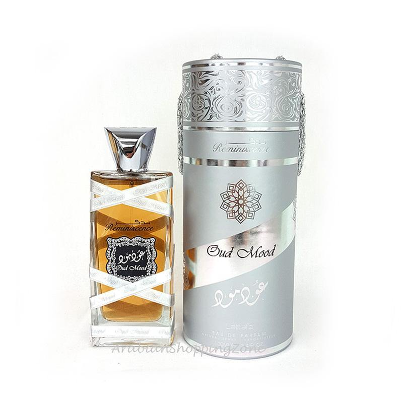 Oud Mood Reminiscence Unisex 100ml EDP by Lattafa Perfumes