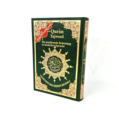 Deutsche Tajweed Quran with Translation in Germany 10