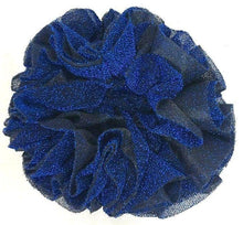 Hijab Khaleeji Volumizer Shining Scrunchie Large Maxi Flower Hair Tie Bun Scarf - Arabian Shopping Zone