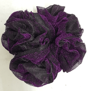 Khaleeji Volumizer Scrunchie Large Maxi Flower Hair Tie Bun Scarf