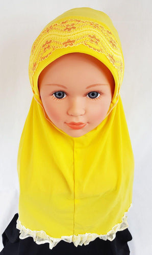 NEW Viscose Baby Kids Children Hijab Islamic Scarf Shawls 1-6T