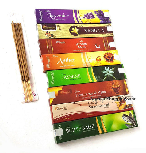 Vedic Aromatika Natural Incense Sticks 8
